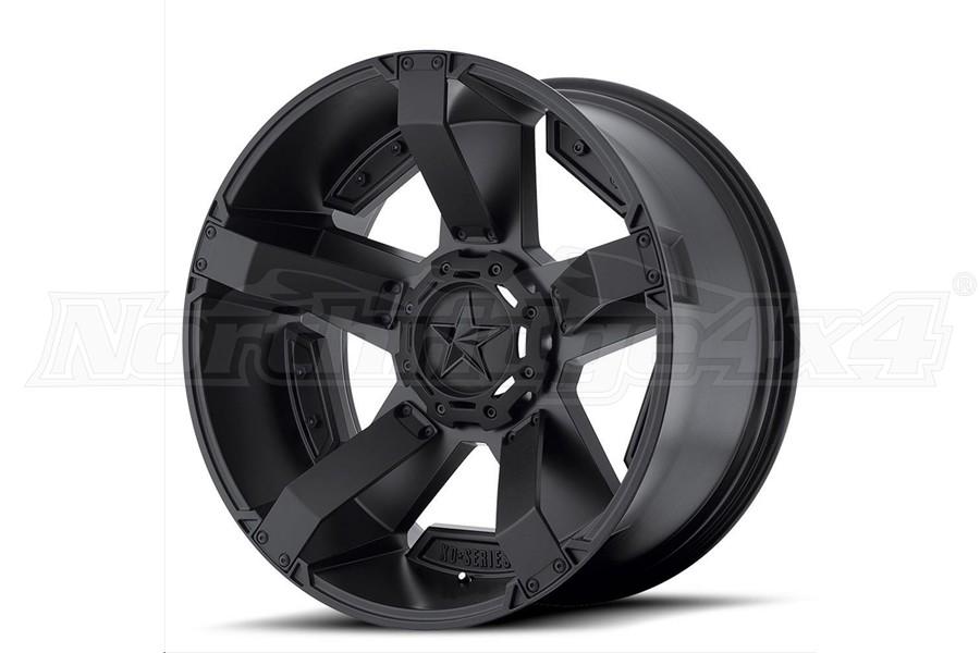 XD series XD811 Rockstar II Non-Beadlock Wheel, Matte Black 20x12 5x5/5x5.5  (Part Number:XD81121235744N)