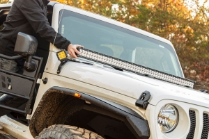 Aries Windshield Light Bar & Brackets - JT/JL
