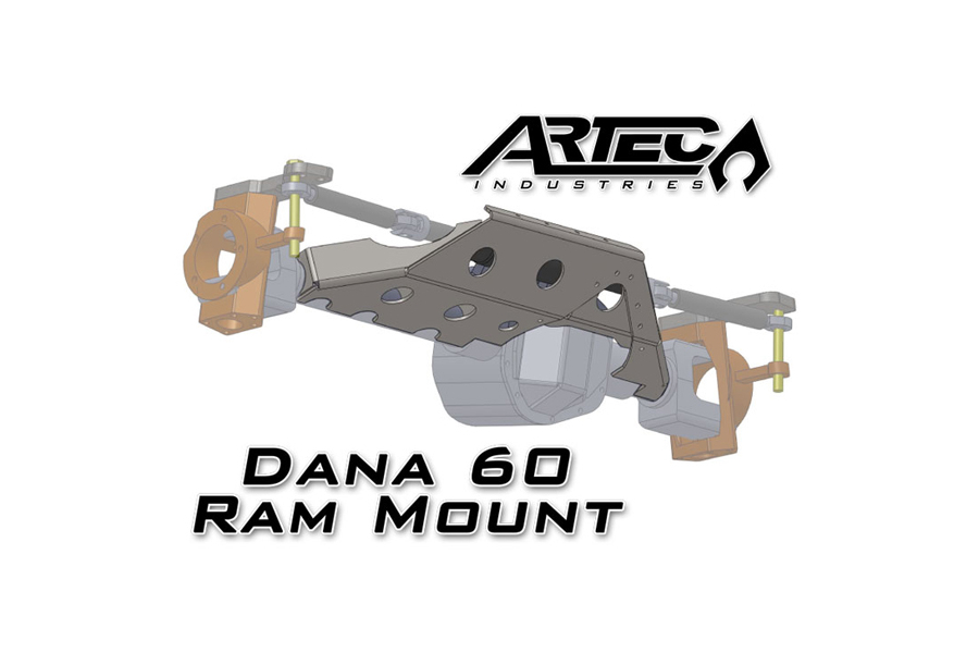 Artec Industries Dana 60 Full Hydro RAM Mount - 81 - 91.5 Ford