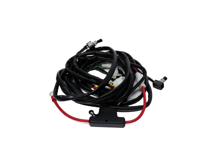 Baja Designs S8IR Wire Harness wMode 2 Bar max | 640122 on cable harness, pet harness, amp bypass harness, radio harness, obd0 to obd1 conversion harness, oxygen sensor extension harness, maxi-seal harness, fall protection harness, alpine stereo harness, dog harness, suspension harness, engine harness, pony harness, nakamichi harness, electrical harness, battery harness, safety harness,