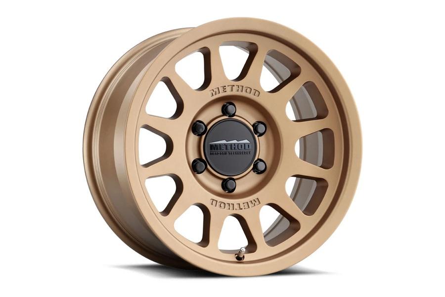 Method Race Wheels 703 Series Wheel, 17x8.5 6x5.5 - Bronze - Ford Bronco