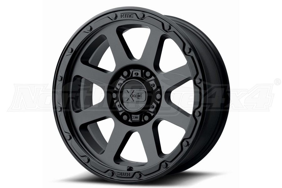 XD Wheels XD134 ADDICT 2 Series Wheel, Matte Black - 17X9 8X6.5