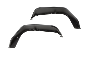 Rugged Ridge HD Front Steel Tube Fenders, Pair - Black  - JL