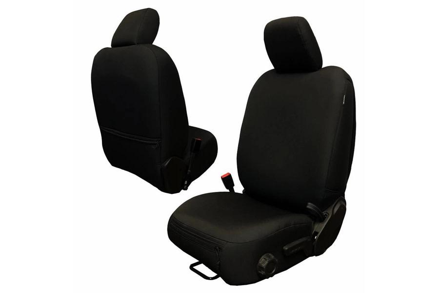 Bartact Baseline Performance Front Seat Covers - Black, No Headrest - JT