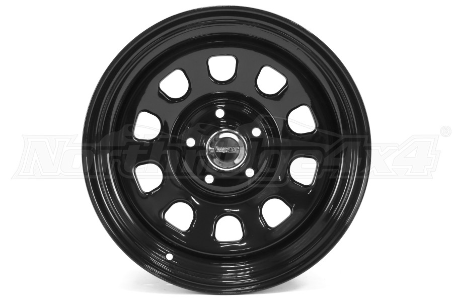 Rugged Ridge D Window Wheel Black 17x9 5x5 (Part Number:15500.70)