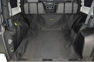 Dirty Dog 4x4 Cargo Liner - JK 2dr 2007-14 w/subwoofer
