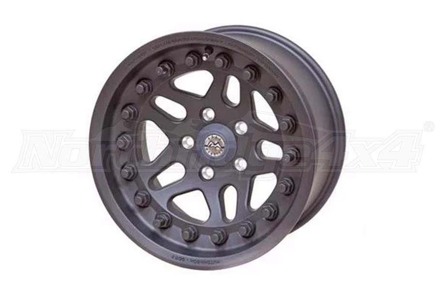 Hutchinson Rock Monster Beadlock Wheel, 17x8.5 5x5  - JT/JL/JK