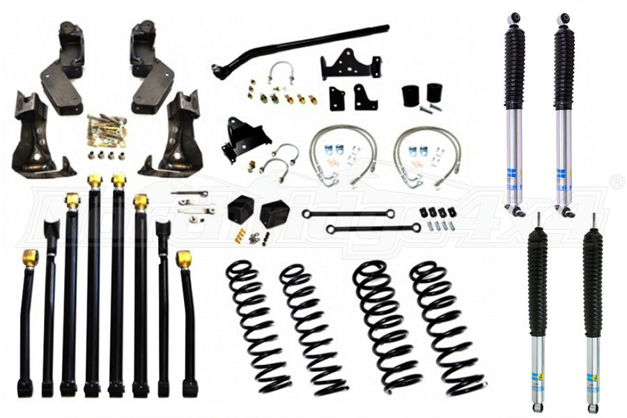 Evo Manufacturing Double D Long Arm Kit w/ Shocks (Part Number:1084-37-PKG)