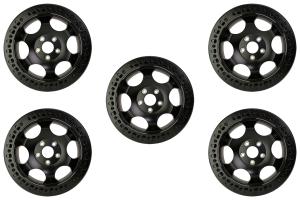 XD Series Wheels XD231 Beadlock Wheel 17x8.5 5x5 Package - JT/JL/JK