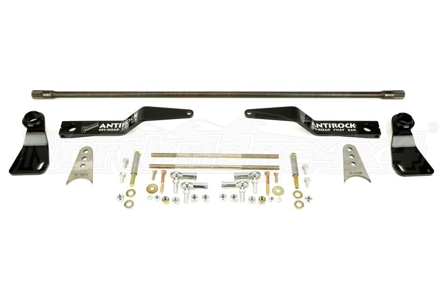 Currie Enterprises AntiRock Sway Bar Kit w/Steel Arms and Brackets Rear - LJ/TJ