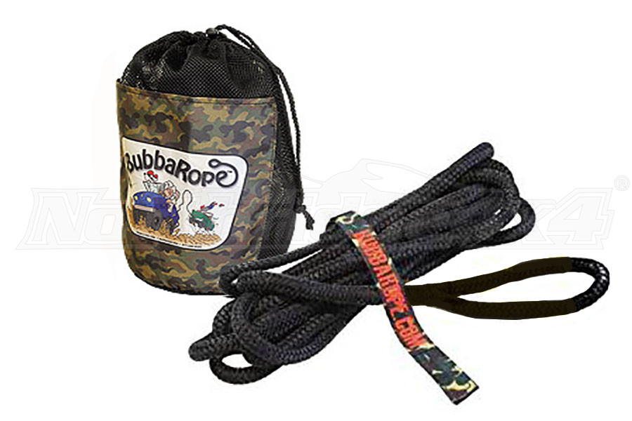 Bubba Rope Lil Bubba 7,400lb Rope Black (Part Number:176650BKG)