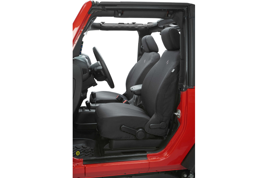 Bestop Front Seat Covers Black   (Part Number:29280-35)
