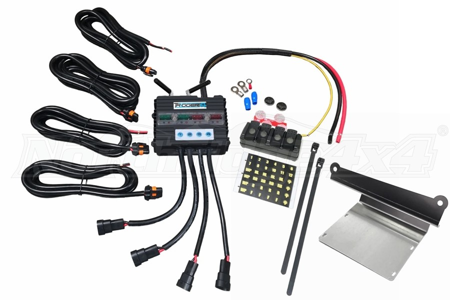 Trigger 4-Channel Switch Combo Kit  - JL