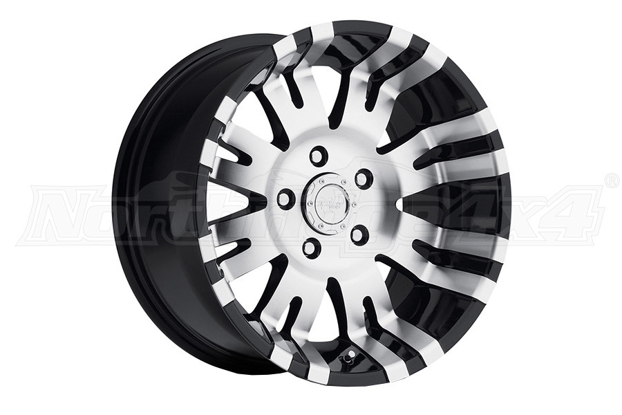 Pro Comp Xtreme Alloys Series 8101 Black Wheels with Machined Accents 17x9 5x5 (Part Number:8101-7973)