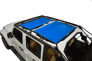 Dirty Dog 4x4 Sun Screen Front and Rear- Blue (Part Number: )