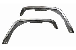 Motobilt Crusher 4in Front Fender Flares - Bare - JK