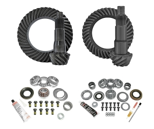 Yukon Complete D35 Rear / D30 Front Ring and Pinion Kit - 5.13  - JL Non-Rubicon