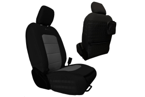 Bartact Tactical Front Seat Covers Black/Graphite (Part Number: )