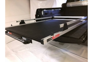 BedSlide 1000 Classic Cargo Slide System, 75in x 48in - Silver - Toyota Tundra 2007+ / Ram 1981-02 1500/2500/3500 w/ 6.5ft Bed