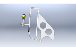 Clayton High Steer Track Bar Mount   (Part Number: )