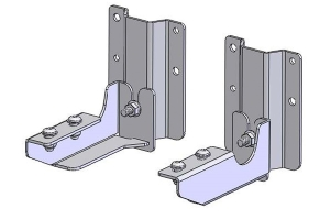 ARB Quick Release Awning Bracket Kit4 (Part Number: )