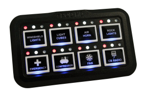 sPOD Add-On 8 Circuit HD Switch Panel