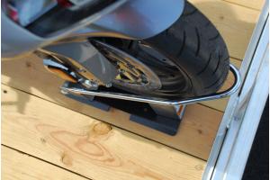Mac's Motorcycle Tie Down Kit Black