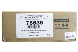 Smittybilt SRC Classic OE Style Side Rails Black (Part Number: )