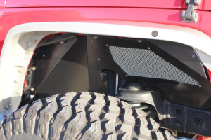 Crawler Conceptz Ultimate Series Aluminum Front Inner Fender Kit w/No Logo (Part Number: )