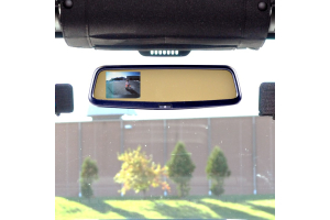 Brandmotion Rear Vision System w/Mirror Display (Part Number: )