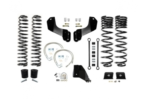 EVO Manufacturing 4.5in Enforcer Overland Lift Kit Stage 1 - JT