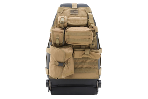 Smittybilt G.E.A.R. Front Seat Cargo Cover Coyote Tan Each (Part Number: )