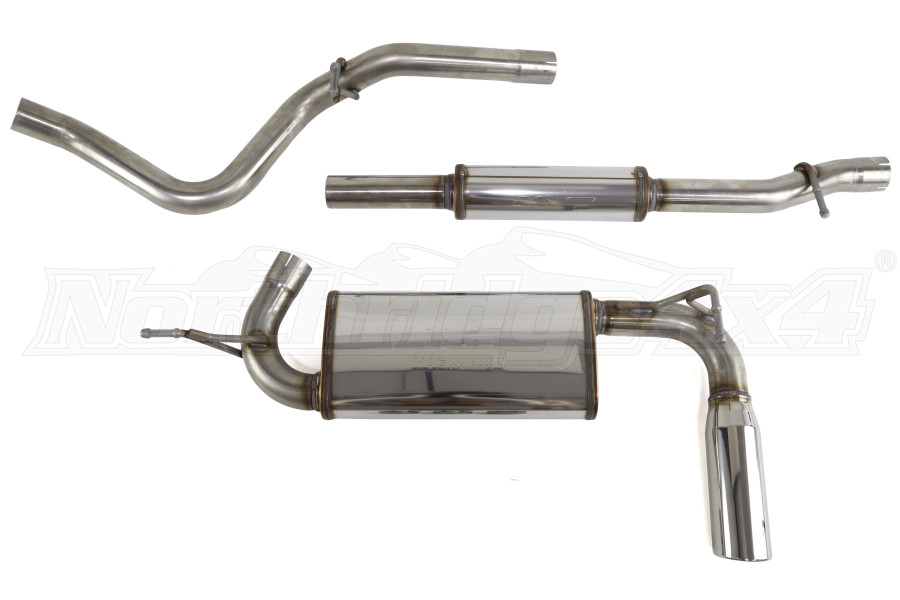 Magnaflow Street Series Cat-Back Exhaust System - JK 4dr 2012+