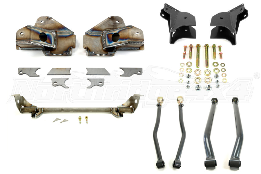 Synergy Manufacturing Rear Suspension Stretch Kit w/Bolt-On Lower Shock Mounts