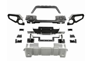 Rugged Ridge Venator Front Bumper w/ Overrider and Winch Tray  - JT/JL