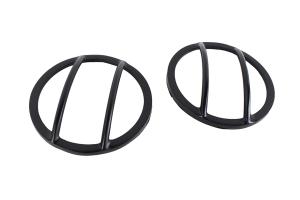 Kentrol Front Marker Cover Set - Powdercoat Black  - JK
