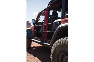 Bestop Element Rear Doors, Matte Black - JT/JL 4dr