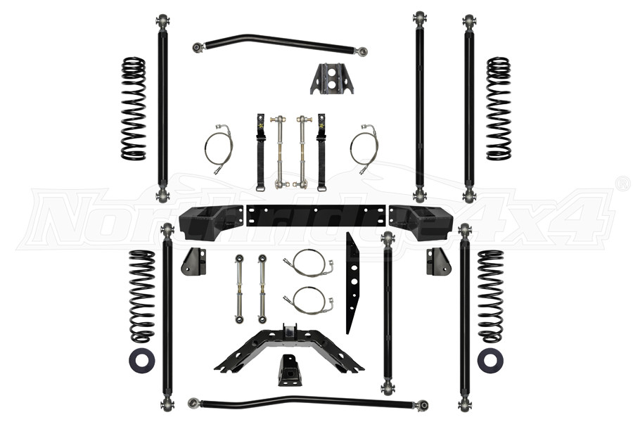 Rock Krawler 3.5in Off Road Pro Long Arm System (Part Number:JK35ORP-4)