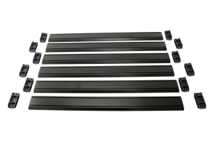 Teraflex Nebo Roof Rack Cargo Slat Kit - Black (Part Number: )