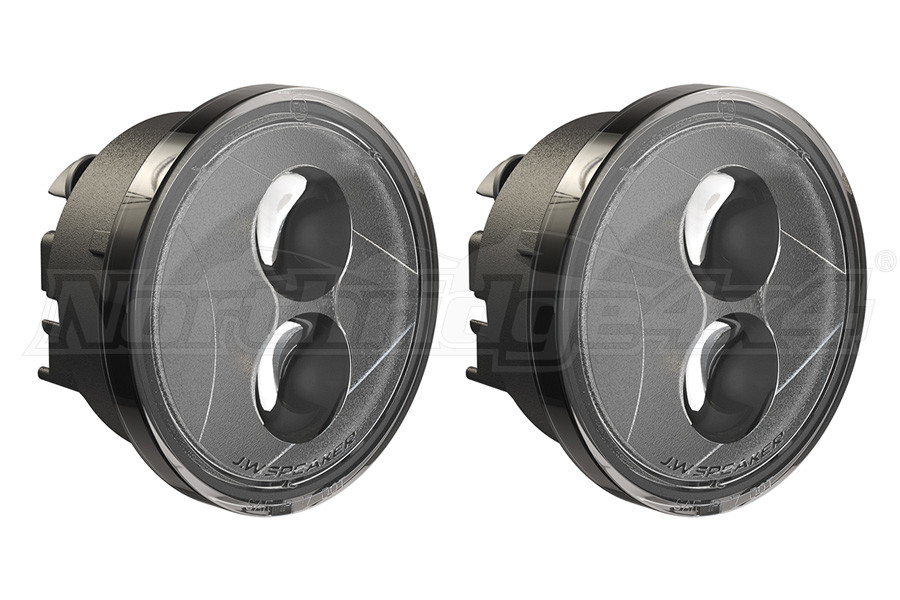 JW Speaker 239 J2 Series, 3.5in Round LED Light Kit, Clear (Part Number:0346493)