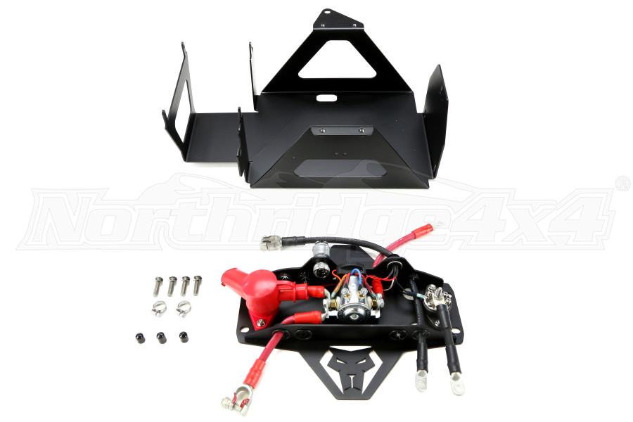 jeep jk 2007 11 genesis offroad dual battery kit 85 amp. Black Bedroom Furniture Sets. Home Design Ideas