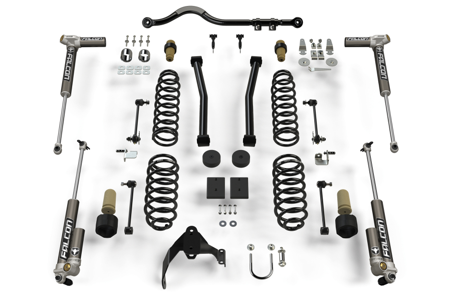 Teraflex 2.5 in Sport ST2 Suspension System with 3.2 Falcon Shocks - JK 4Dr
