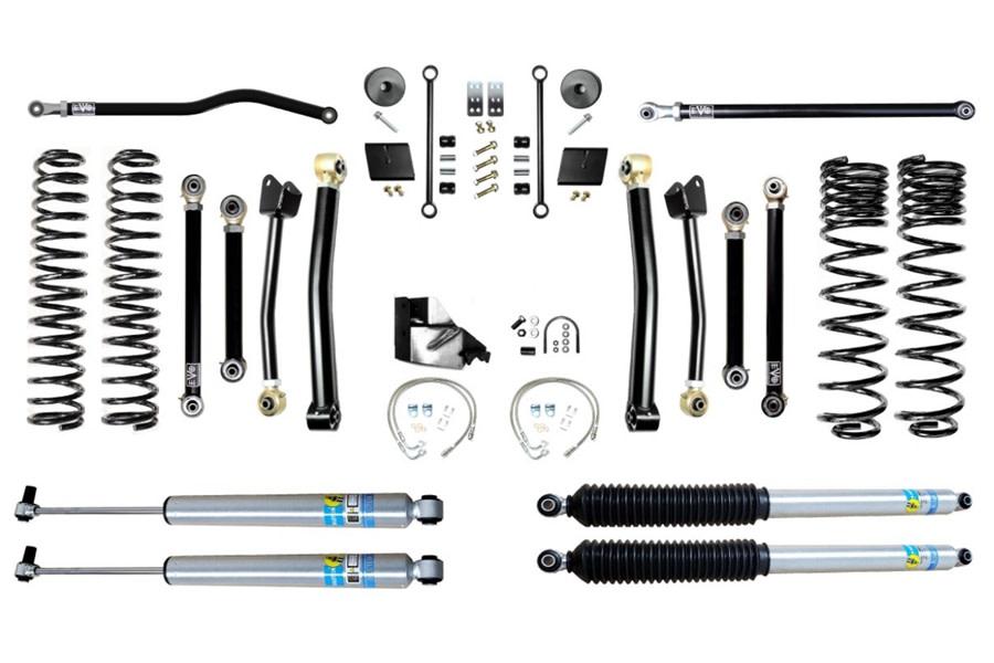 Evo Manufacturing 4.5in Enforcer Stage 4 Plus Lift Kit w/ Bilstein Shocks - JT