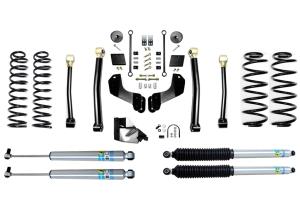 Evo Manufacturing 3.5in Enforcer Overland Stage 3 Lift Kit w/ Bilstein Shocks - JL