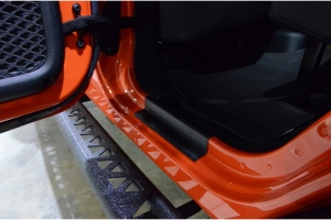 Kentrol 4-Pieces Entry Guard Kit - Textured Black  - JK 4Dr