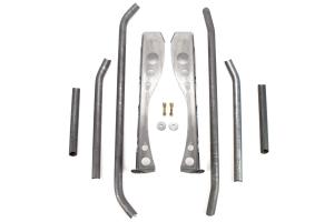 Poison Spyder Trail Cage Roll Kit Bare Steel - TJ