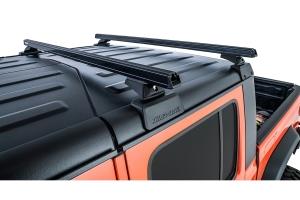 Rhino Rack Heavy Duty Black 2 Bar Roof Rack w/ Backbone and RCL Legs   - JT