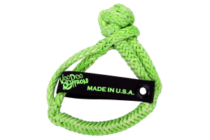 VooDoo Offroad Soft Shackle 3/8in x 7in Green