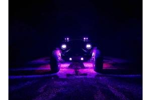 Quake LED RGBW Rock Light Kit - 4 Pods