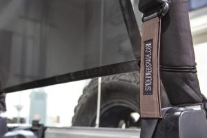 SpiderWebShade Seatbelt Silencers - Tan - JK 2Dr